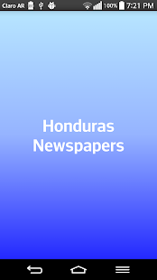 Honduras Newspapers - screenshot