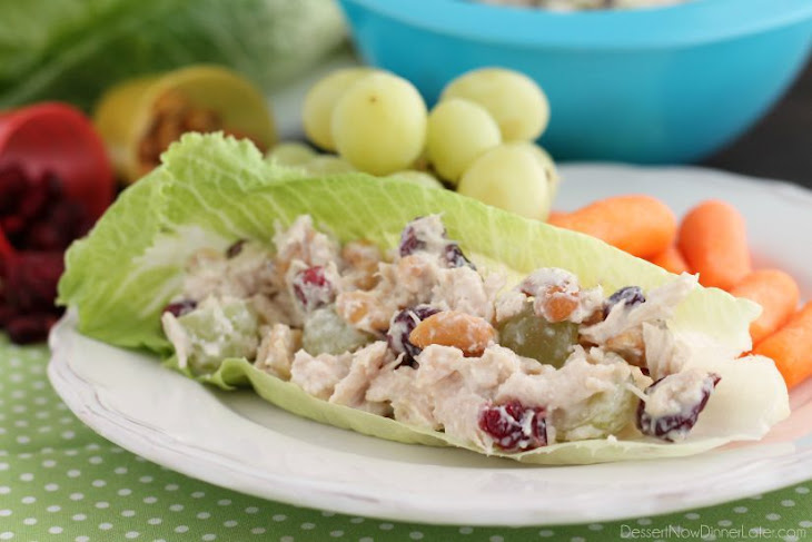 Light Chicken Salad Recipe | Yummly