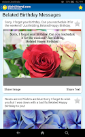 Screenshot of Birthday Cards & Messages