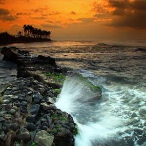 Manyar lagiiii by Linggar Saputra I Wayan - Landscapes Waterscapes