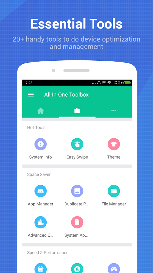 All-In-One Toolbox: Cleaner, Booster, App Manager Screenshot 1