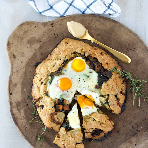 The Best Breakfast Galette with Maple Cream