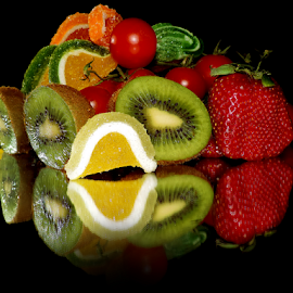 fruits,candys and tomatoes by LADOCKi Elvira - Food & Drink Fruits & Vegetables ( fruits )