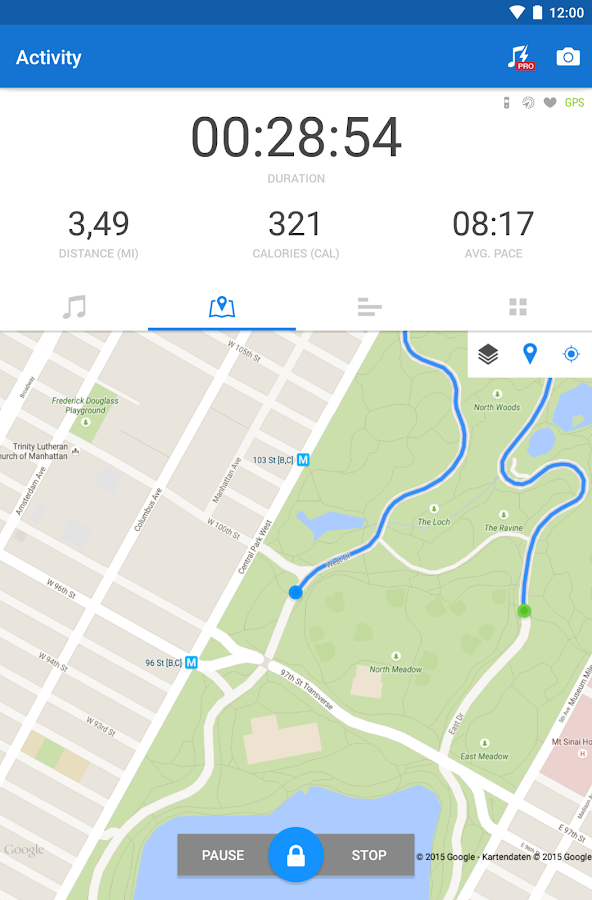 Runtastic Running & Fitness Screenshot 18