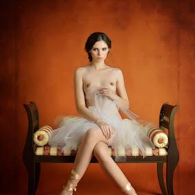 Balerina girl by Fira Alexandra - Nudes & Boudoir Artistic Nude