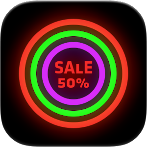 Neon Glow - Icon Pack For PC / Windows 7/8/10 / Mac – Free Download