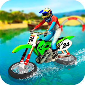 Water Surfing Motorbike Stunt the best app – Try on PC Now