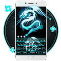 Neon Dragon Keyboard Theme