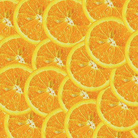 Seeing Orange by Christy Stanford - Food & Drink Fruits & Vegetables ( seedy, many, orange, fruit, color, food, slices, oranges, multiple )