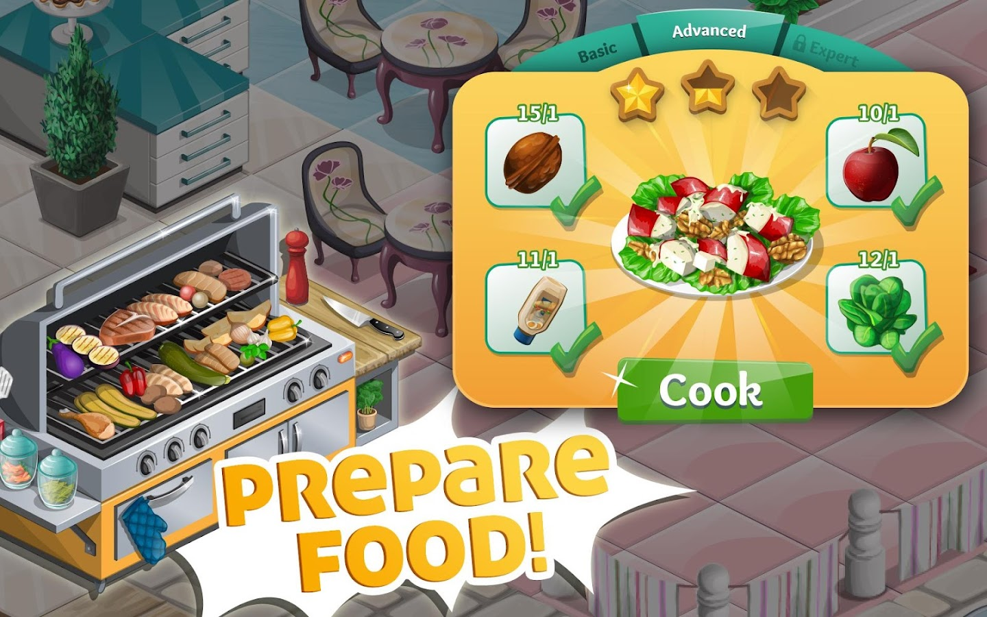 Chef Town: Cooking Simulation Screenshot 7
