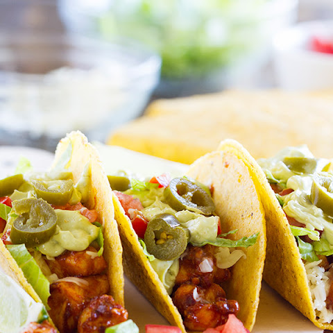 Bold Ranch Spicy Chicken Tacos