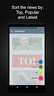 Unified News : All News in One - screenshot