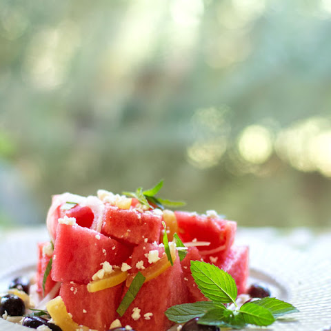 Watermelon Salad with Preserved Lemon