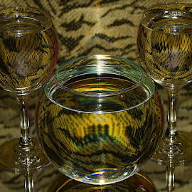 three glass by LADOCKi Elvira - Artistic Objects Furniture