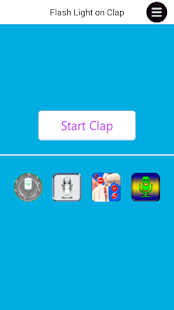 Clap to Flashlight ON/OFF - screenshot