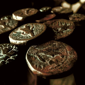 Kaniska by Jhilam Deb - Abstract Fine Art ( dhupguri, kaniska, coin, numismatic, museum )