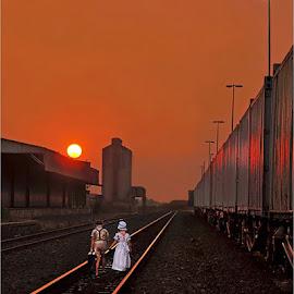 runaway kids by Leon Pelser - Babies & Children Children Candids ( no flash, iso 100, 1/30, f 11, tripod,  )