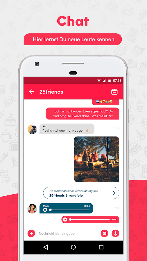 25friends - Freunde finden android apps download