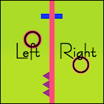 Left and Right - The Brain Training Game Icon