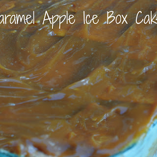 Caramel Apple Ice Box Cake