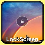 Double Rainbow Lock Screen APK Image