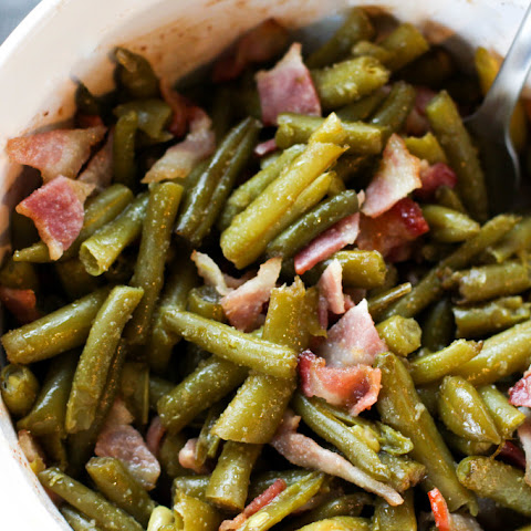 Green Bean and Bacon Casserole
