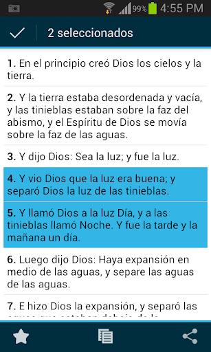 Santa Biblia Reina Valera screenshot 4