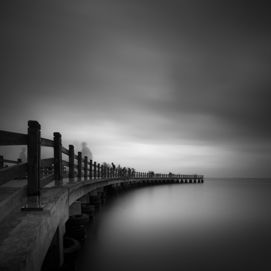 gathering by Firman Hananda Boedihardjo - Landscapes Waterscapes ( black and white, black and white collection )