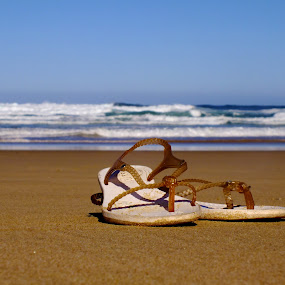 Sandwich by Domenic Gorin - Artistic Objects Other Objects ( shoes, feet, beach )
