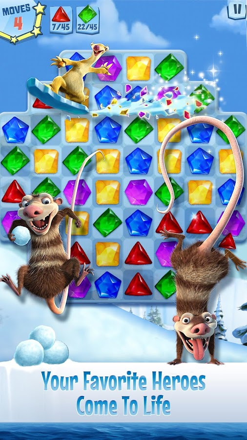 Ice Age: Arctic Blast Screenshot 1
