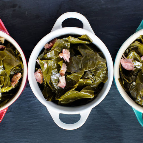 Ale-Braised Collards With Ham