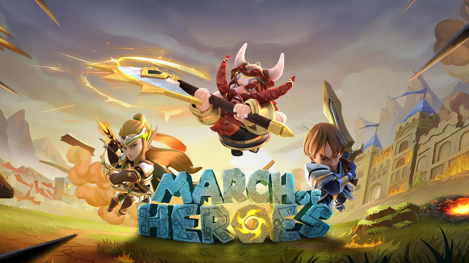 March of Heroes Screenshot 0