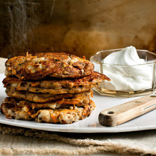 Cottage Cheese Pancakes With Indian Spices