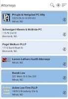 Screenshot of SRT Minot Phone Directory