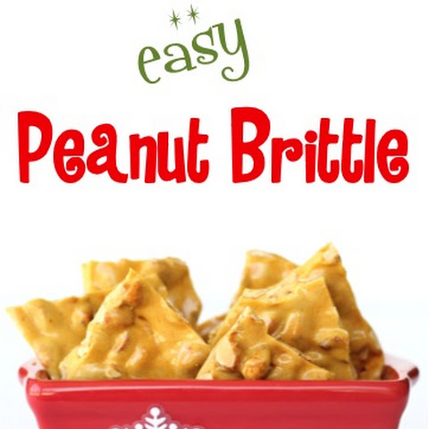 Easy Peanut Brittle Recipe!