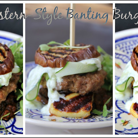 Middle-Eastern-Style Eggplant Burger