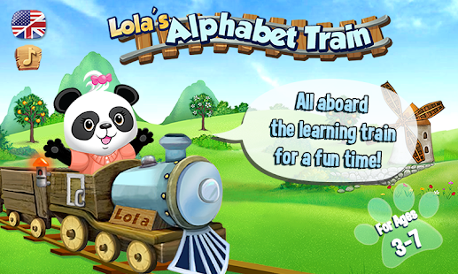 Lola's Alphabet Train - screenshot