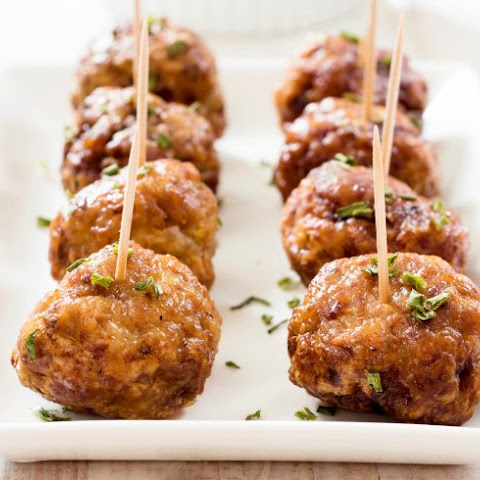 Tapas Meatballs With Orange Glaze