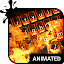 Download Burning Animated Keyboard APK