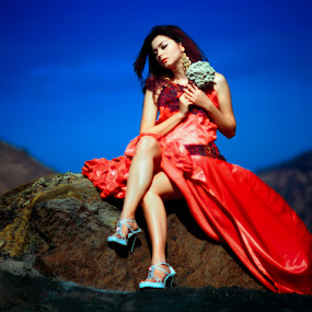 Edelweiss by Nanto 사파이어 - People Fashion ( film, fashion, mountain, edelweiss, beauty,  )