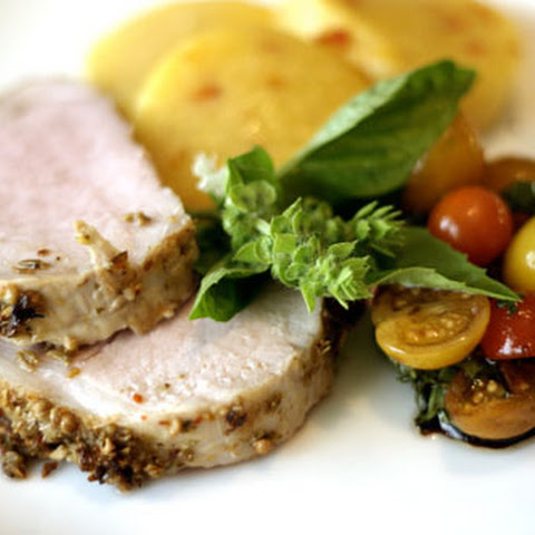 Sicilian Spice Crusted Pork Loin