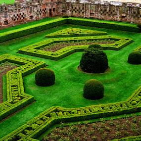Lovely gardens in Scotland by Luz UK - City,  Street & Park  City Parks ( park, green, garden,  )