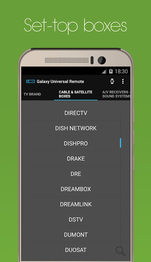 Galaxy Universal Remote Screenshot 3