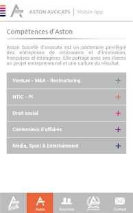 Aston Avocats - screenshot