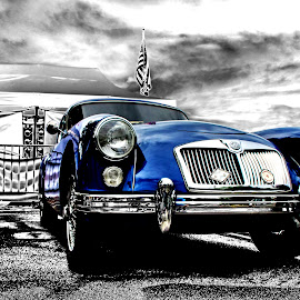 MG Coupe by JEFFREY LORBER - Transportation Automobiles ( mga, british, lorberphoto, coupe, mg, rust 'n chrome, english car, coupe british car, jeffrey lorber )