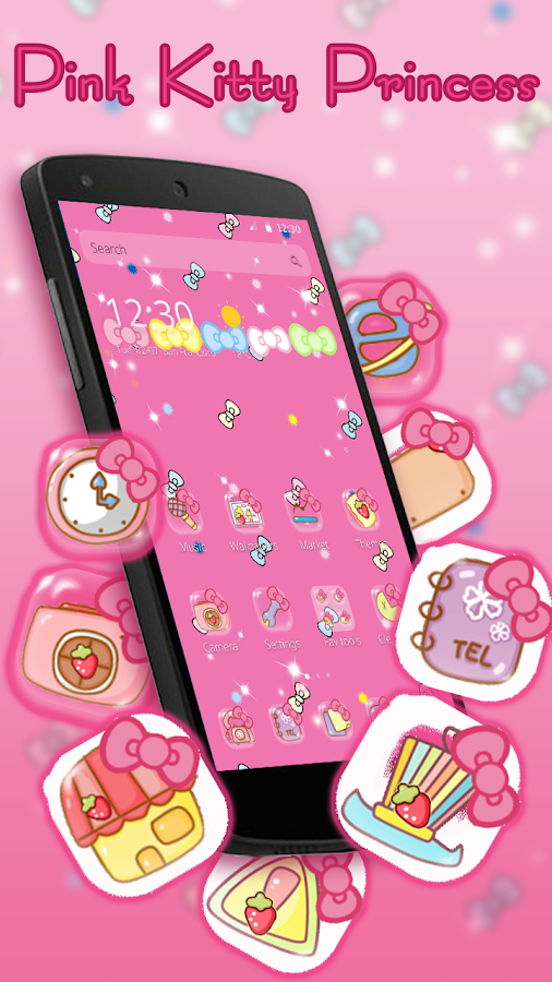 Rosa Prinzessin Kitty android apps download