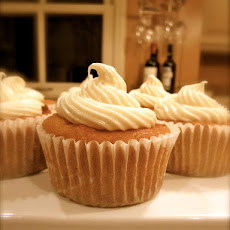 Pumpkin Carrot Cupcakes (or Cake) with Cream Cheese Icing