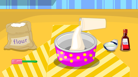 games cooking donuts- screenshot thumbnail