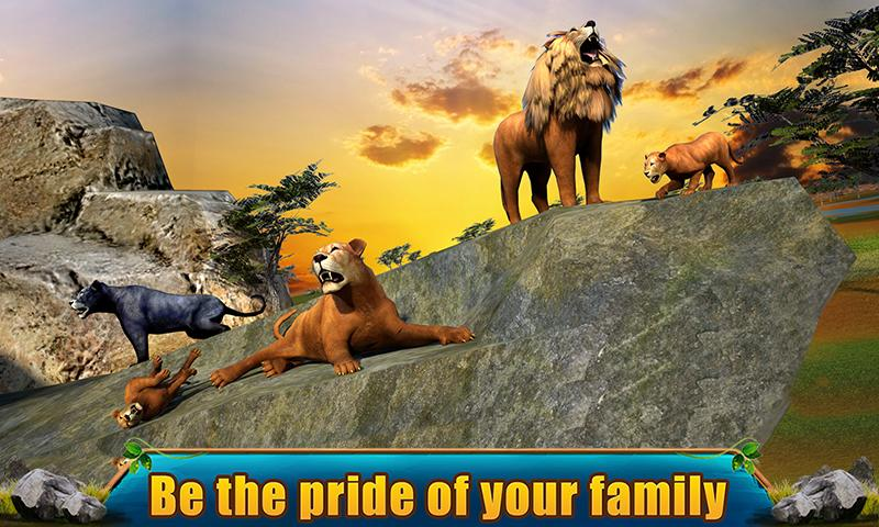 Ultimate Lion Adventure 3D Screenshot 2