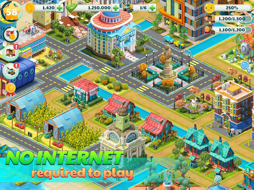 Town City - Village Building Sim Paradise Game 4 U screenshot 10